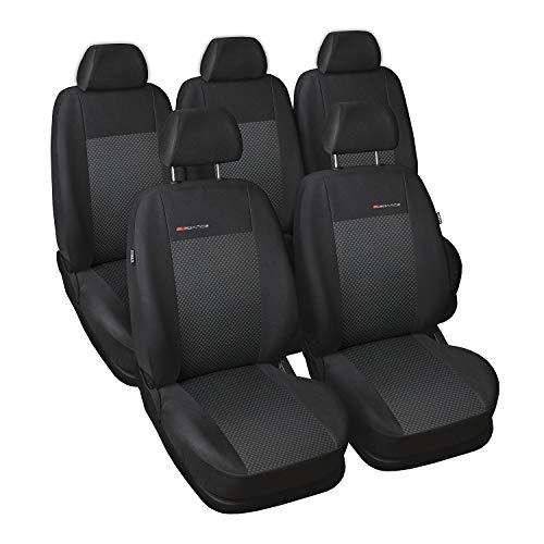 5x Sitze Autositzauflage Auflage Rot Schwarz Neu Hochwertig für BMW Citroen Audi