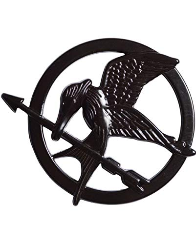 Horror-Shop The Hunger Games Mockingjay Pin (Katniss Everdeen Kostüm Mockingjay)