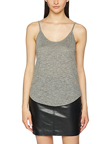 PIECES Pcmornin Top, Vestaglia Donna Grigio (Medium Grey Melange Medium Grey Melange)