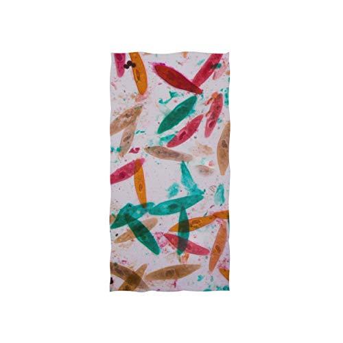 Leben Herkunft Paramecium Soft Spa Strand Badetuch Fingerspitze Handtuch Waschlappen Für Baby Erwachsene Bad Strand Dusche Wrap Hotel Travel Gym Sport 30x15 Zoll - Zell-aktivität