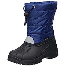 Playshoes GmbH Winter Bootie, unisex-child Warm Lining Mid-Calf Boots, Blue (Navy), 12.5 UK (30/31 EU)