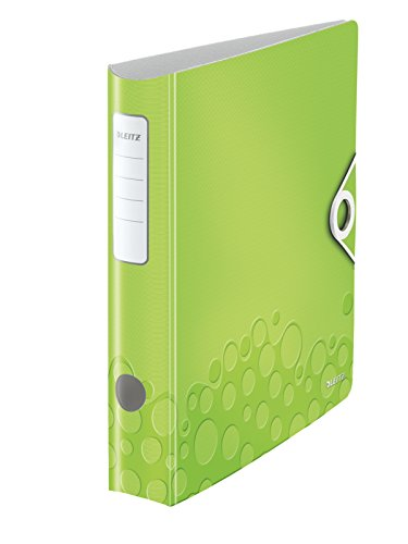 Leitz Ordner WOW 60460095 DIN A4 , grün metallic , 65 mm