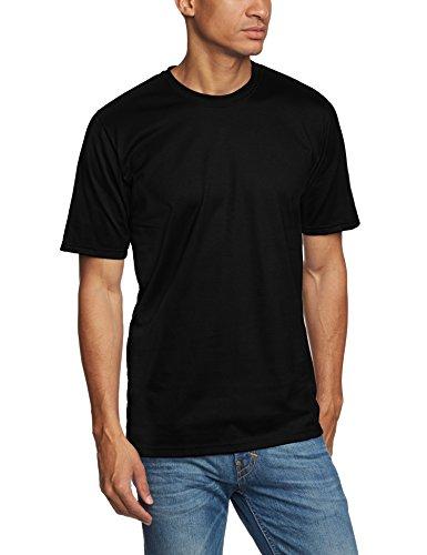 Trigema Herren T-Shirt 637202_008, Gr. 4X-Large, schwarz (T-shirt 4x)