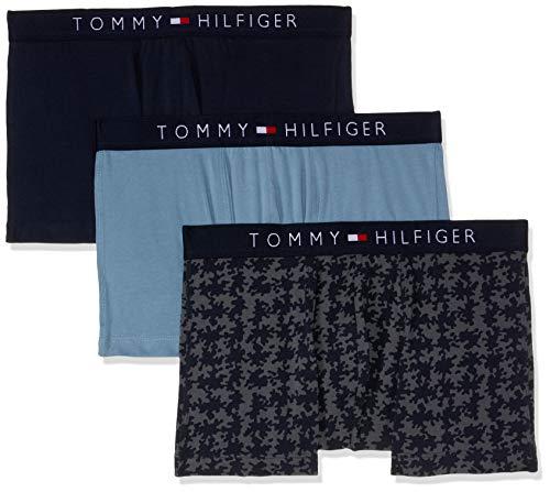 Tommy Hilfiger Boxershorts im 3-er Pack, Herren, Medium, Marineblau