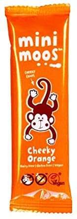Cheeky Orange - Mini Moo Organic Dairy Free Milk Chocolate Alternative - Moo Free (Pack of 15)