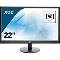 "AOC e2270swhn 21.5"" Widescreen TN LED Black (1920x1080/5ms/VGA/HDMI)"