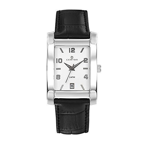 Certus Reloj Analógico para Hombre de Cuarzo con Correa en Cuero 611116