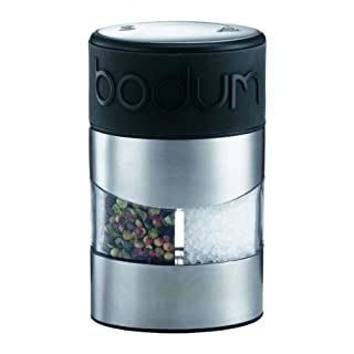 Bodum Twin Manual Salt and Pepper Grinder with Silicone Band - Black (B002CHG65W) | Amazon price tracker / tracking, Amazon price history charts, Amazon price watches, Amazon price drop alerts