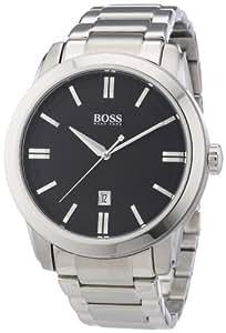 Hugo Boss Herren-Armbanduhr XL Analog Quarz Edelstahl 1512769