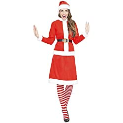 Disfraz de Mamá Noel o Miss Santa Claus para mujer