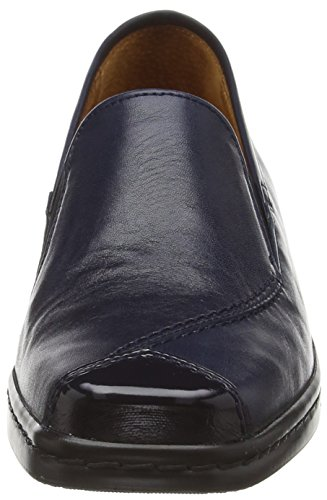 Gabor Frith, Damen Slipper Blau (dark Blue Leather/patent)