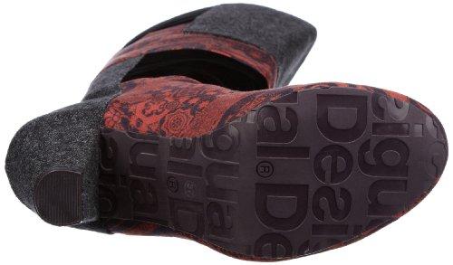 Desigual Shanon 27TS360, Stivali donna Rosso (Rot (Rojo 3092))