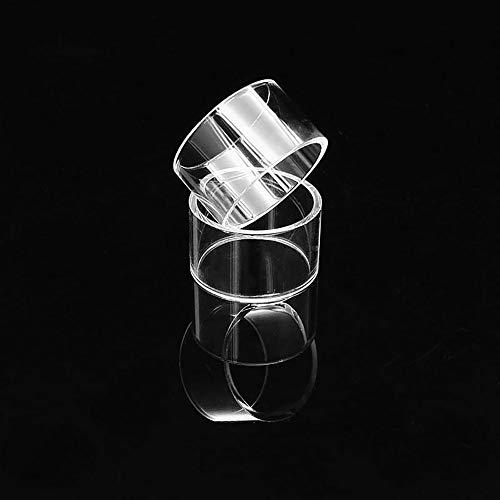Denghui-ec, 2 Stücke Ersatz Pyrex Glasrohr Für Geekvape Karma RDTA 25 MM 5 ml Tank Zerstäuber Fit Für Karma Mechanische Kit MECH MOD, Frei von Tabak und Nikotin (Color : Clear) - Mech-modell-kit