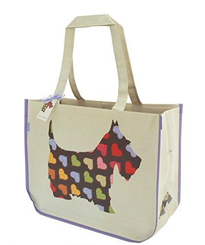 Large Shopping Bag - Santoro's Scottie Dogs by Santoro