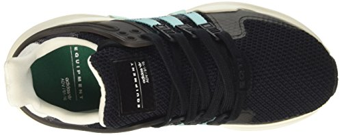 adidas Equipment Support Adv, Scarpe da Ginnastica Donna Nero (Cblack/Claqua/Granit)