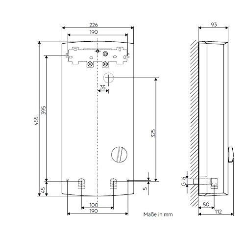 AEG elektronischer Durchlauferhitzer DDLE Basis, umschaltbar 18/21/24 kW - 8