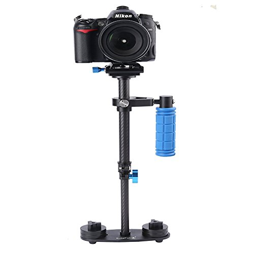 sutefoto sf-04 Carbon DSLR Steadicam Video Kamera Stabilisator mit Quick Release Plate für DSLR und Video Kameras (Video Digital Professional Kamera)