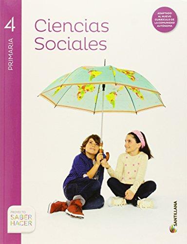 CIENCIAS SOCIALES CANTABRIA + ATLAS 4 PRIMARIA - 9788468030876