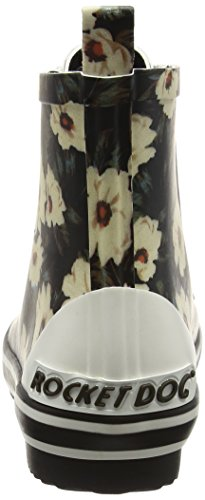Rocket Dog Rainy, Stivali di Gomma Donna Multicolour (Midnight Floral)