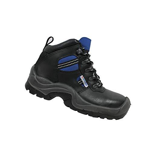 Berner Sport S3 Sicherheitsschuhe Arbeitsschuhe Berufsschuhe Businessschuhe Trekkingschuhe Schwarz, Größe:39 EU