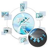 atFolix Schutzfolie passend für Nokia Lumia 625 Folie, ultraklare & Flexible FX Bildschirmschutzfolie (3X)
