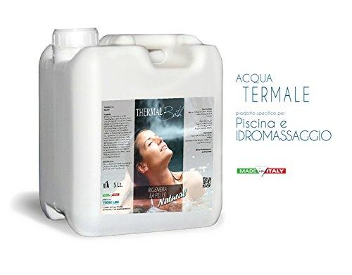 Metacril Acqua TERMALE per Spa idromassaggio e Piscina di Qualsiasi Marca (Jacuzzi, Teuco, Grass, Hafro, Dimhora, ECC.) Thermal Bath Natural (inodore) 5 Lt.Spedizione IMMEDIATA