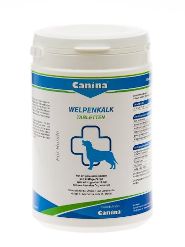 Canina Welpenkalk Tabletten, 1er Pack (1 x 1 kg)
