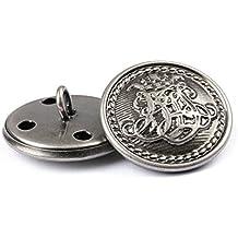 12 botones de metal para hombre o mujer 27da8ac9d29