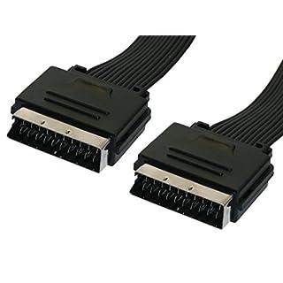Avalva 1088 Scart-Kabel (0,5 m) schwarz