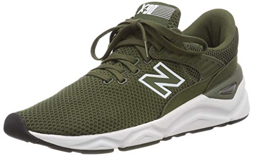 New Balance Herren X-90 Sneaker, Marsh/Grey, 46.5 EU -