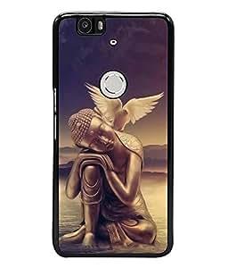 Fuson Designer Back Case Cover for Huawei Nexus 6P :: Huawei Google Nexus 6P (Gautama Buddha Siddhartha Gautama Shakyamuni Buddha Buddhism Buddhists munish tatharaj)