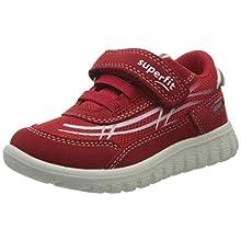 superfit SPORT7 Mini, Sneaker Unisex-Bambini, Rosso (Rot 50), 22 EU
