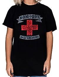 Official Jon Bon Jovi Bad Medicine Unisex T-shirt Burning Bridges