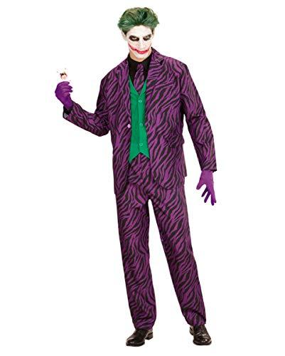 Horror-Shop Evil Joker Kostüm mit Weste S