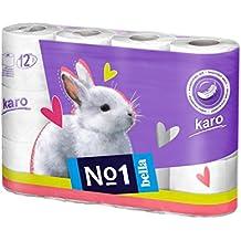 Bella No1 Karo White Toilet Tissue Roll - 12 Rolls