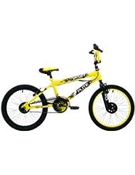 Flite Boy's Punisher - Bicicleta para niño, tamaño 20 UK, color amarillo