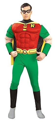 Erwachsenen Robin Deluxe Kostüm Für - Robin Erwachsenen Kostüm Deluxe M Mann
