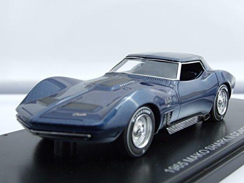 chevrolet-corvette-mako-shark-ii-concept-1965-voiture-miniature-miniature-deja-montee-neo-143