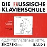 Die Russische Klavierschule Band 1, 2 Audio-CDs