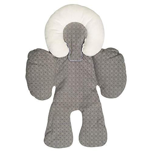 Babyschale Kissen,Sunday Kinder Kinderwagen Autositz Baumwolle Unterlage Kissen Baby Zubehör für 0-18 Monate (Grau)