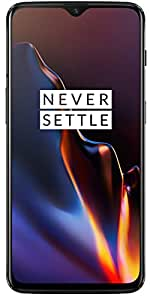 OnePlus 6T (Mirror Black, 8GB RAM, 128GB Storage)