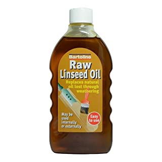 Able & Handy 90234 500ml Flask Raw Linseed Oil, Multi-Colour