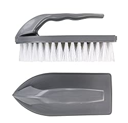 Elliott Shaped Scrubbing Brush with Handle