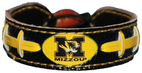 Caseys Distributing 4421402084 Missouri Tigers Bracelet- Team Color Football by Caseys