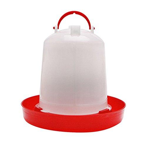 Lifet 2.5L Chook Chicken Waterer Geflügeltrinker Voliere Automatic Feeder & 6/3 / 1.5L 1PC