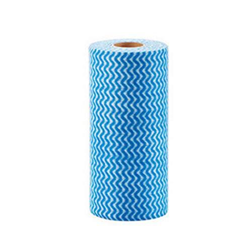 Einweg-arbeitsplatte (JER 50 Stück Einweg Reinigungstücher Wiederverwendbare Reinigungstücher Küchengeschirrtücher Non Woven Stoff Spültuch blau Homedekor)