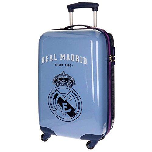 Real Madrid 1902 Equipaje Infantil, 55 cm, 33 Litros, Morado