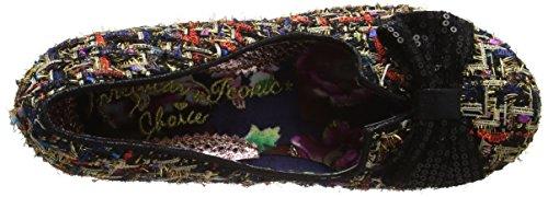 Irregular ChoiceDazzle Razzle - Scarpe con Tacco donna Black (Black/Gold)