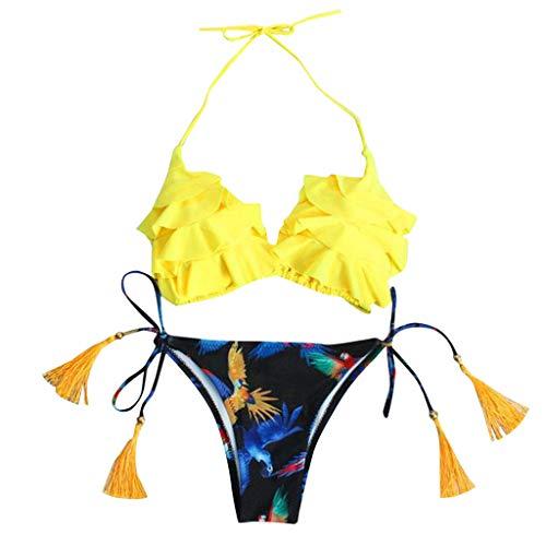 Idea Regalo Compleanno Adatto a Bambina Colore Azzurro Intero Monospalla Costume da Bagno Elsa