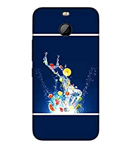 For HTC Bolt fruit in water ( ) Printed Designer Back Case Cover By CHAPLOOS